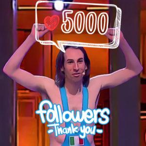 5000-followers-300x300 I 5000 followers di Instagram!